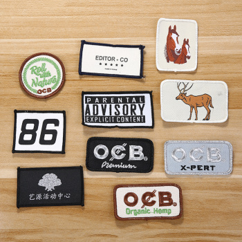 Embroidery patches and patches and patches for DIY