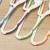Creative plastic hanger pants rack anti - drop clothing hanging clothes racks no trace hanger