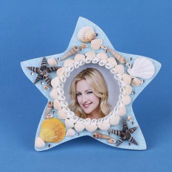 Mediterranean creative home gifts crafts shell starfish photo frame