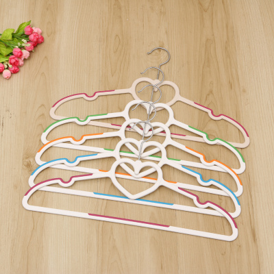 non - slip plastic hanger magic racks wet and dry racks