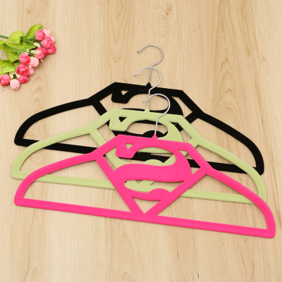 Adult high - end Superman flocking hanger anti - skid durable tattoo hanger magic hanger