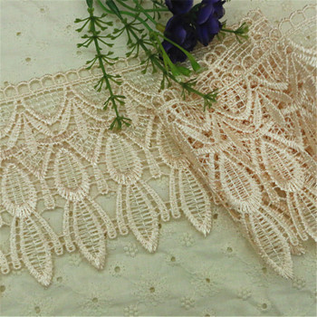 Factory direct sales - clothing, handicrafts, such as foreign trade and other special water-soluble polyester burst lace