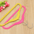 The new high - grade flocking hanger magic hanger non - slip incense hanger
