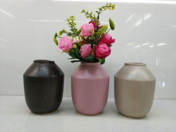 European-style retro high-grade glazed ceramic vase crafts Decoration new house restaurant TV cabinet decoration flower