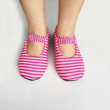 Floor socks non-slip yoga early childhood socks baby children's school socks men and women plus cashmere striped shoe
