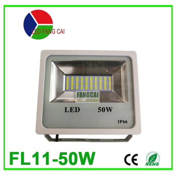 White patch 50 watts thin IP66 outdoor waterproof square