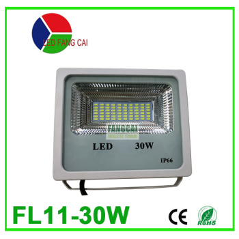 White patch 30 watts thin IP66 outdoor waterproof square
