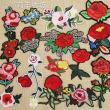 Computer embroidery, embroidery embroidered rose, embroidered flowers.