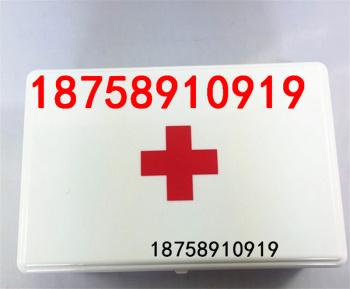 Manufacturers wholesale car first aid kit family storage storage box medical emergency box