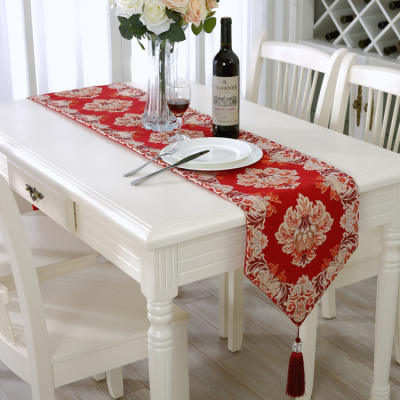 New style classical luxury table flag European gold embroidery quality table tea table cloth.