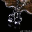 Europe and the United States selling jewelry boxing gloves men  steel pendant accessories stainless steel pendants