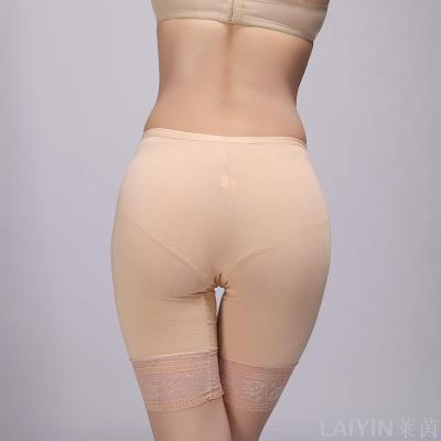 Rhine new summer lace modal cotton safety pants anti-emptied 5 points underwear factory direct