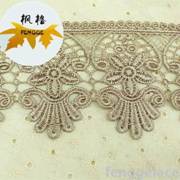 Factory direct fine water-soluble embroidery home textiles for the explosive section lace accessories