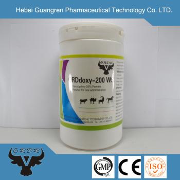 Doxycycline Hyclate Water Soluble Powder 20% veterinary medicine