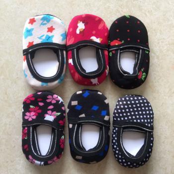 Factory direct children baby non-slip thickening warm floor socks socks toddler shoes footwear wholesale