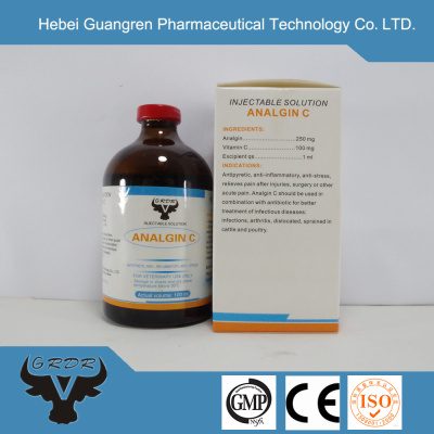 Metamizole Sodium & VC Injection chinese products sold