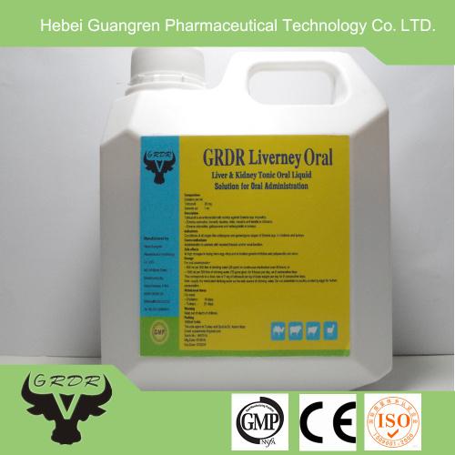 Poultry liver tonic oral liquid