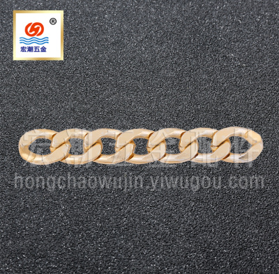 Aluminum Chains Korea Copper Chain Clothing Luggage Accessories Stainless Steel Metal Chains