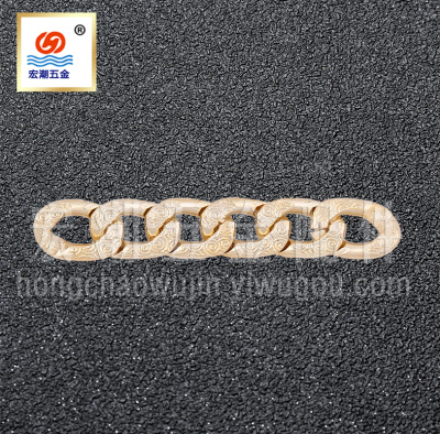 Supply chain NK golden gun black aluminum buckle chain chain chain chain chain of mobile phone shell black clothing