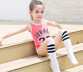 New children swimsuit sunscreen clothes quick bikini baby swimsuit beach girl conjoined swimsuit
