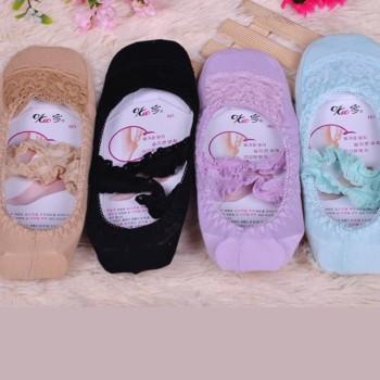 Japanese ballet strap lace stealth socks short shallow mouth female boat socks indoor socks ballet socks yoga socks