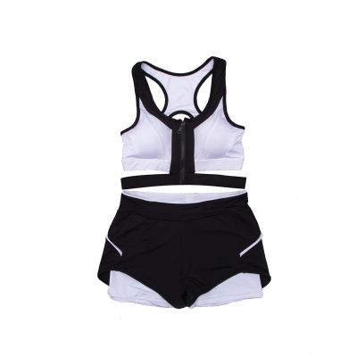 Women Yoga Sets Running Sports Bra + Shorts Set Fitness Gym Push Up Seamless Bras Tops Elastic Short Pants for Women