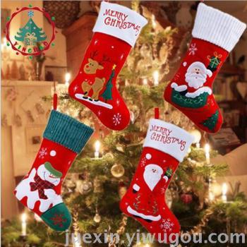 Christmas socks Christmas ornaments Christmas socks children gift bags holy super large socks mall home furnishings