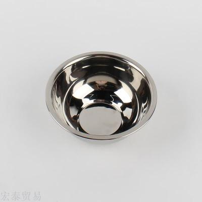 Stainless steel heart of the side of the soup bowl 18cm bowl of stainless steel soup side of the wholesale
