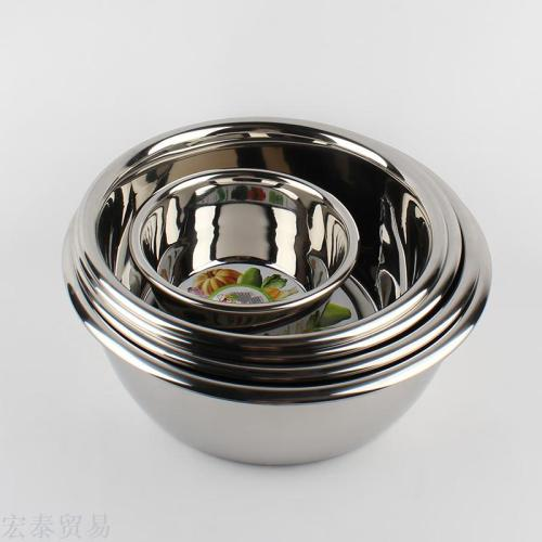 1.5 Heart of the arc side of the spices of the arc back to the edge of cooking pots made of stainless steel basin