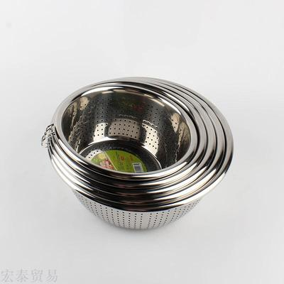 Washing pots with rice sieve single ring 1.5 heart of the arc edge of the fruit screen sieve and fruit screen