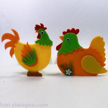 Nonwovens Kindergarten Preschool furnishings arranged rooster hens
