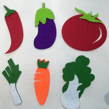 Non - woven vegetables series cabbage carrots jewelry crafts decorative accessories