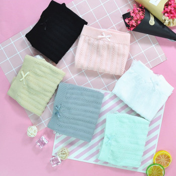 Leggings Lace Flat Pants Trousers Twist Four Pants Pants Anti-Smooth Safety Pants