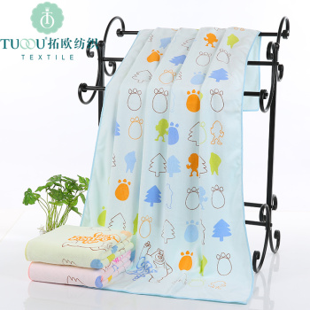 Microfiber towel towel towel beauty salon 70 * 140 beach towel dry towel thickening absorbent