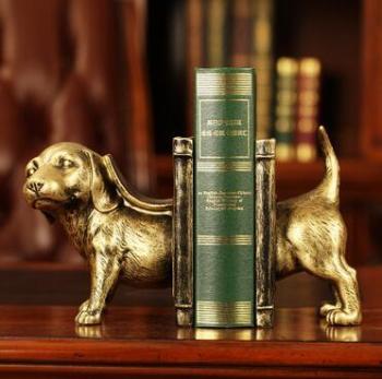 Dog book resin crafts crafts high - grade Decoration