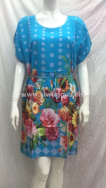 Dress burst cotton dress,