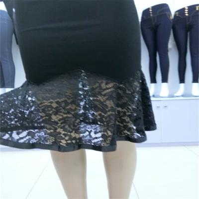 New skirt skirt skirt fashion Slim lace Jinmian skirt