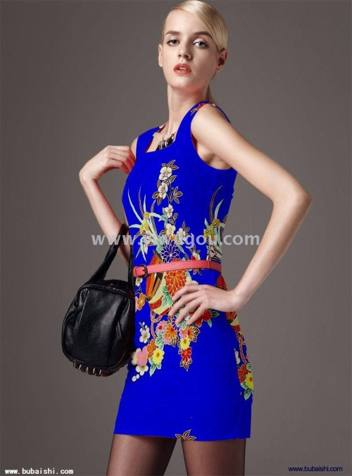 Dresses, people cotton dress. Explosions selling Europe and the United States in Southeast Asia