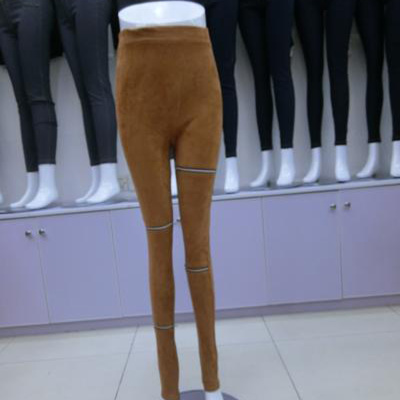 Women's wild jeans elastic Slim pencil pants