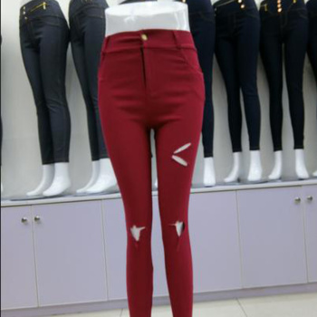 Summer was thin nine points pencil pants thin section of high waist factory direct