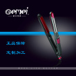 GEMEI straight hair beauty 1973 splint artifact hair curler curling iron dual splint