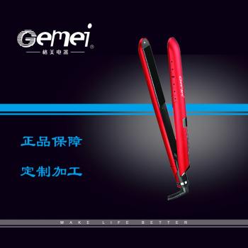 Gemei 1965 perm browser straightener hair straightener ceramic coating straightener wholesaling
