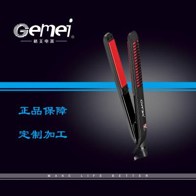 PROGEMEI ge mei 1968 electric splint straightener foreign trade curling iron dual purpose straight hair wonder device
