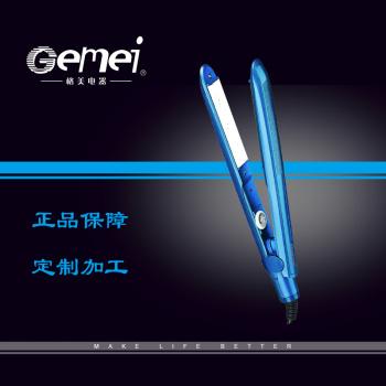 Gemei 1952 ceramic hair straightener ceramic curling irons hair straighteners electric perm browser
