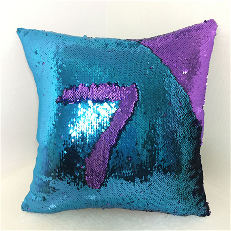 简约居家数字图案抱枕 办公沙发靠垫 颜色多样