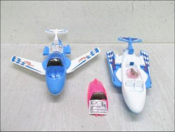 Children 's educational toys wholesale cable with light aircraft model folding wing