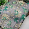 High-grade composite polyester polyester silk sub-network embroidery lace