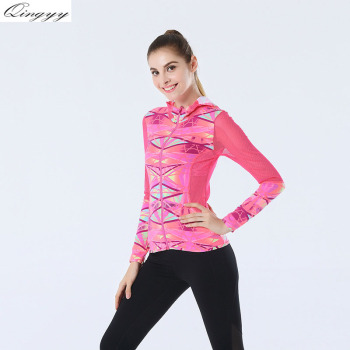 Professional Yoga Sports Jackets Female Threads Hooded Hooded Garment Coats