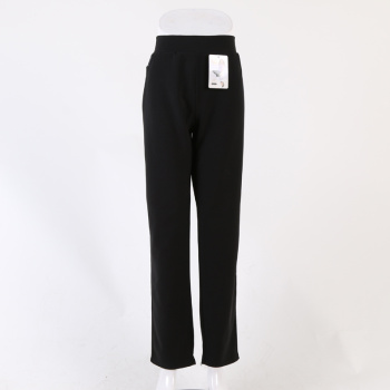Casual women's trousers black straight jeans fashion nine trousers manufacturers direct sales