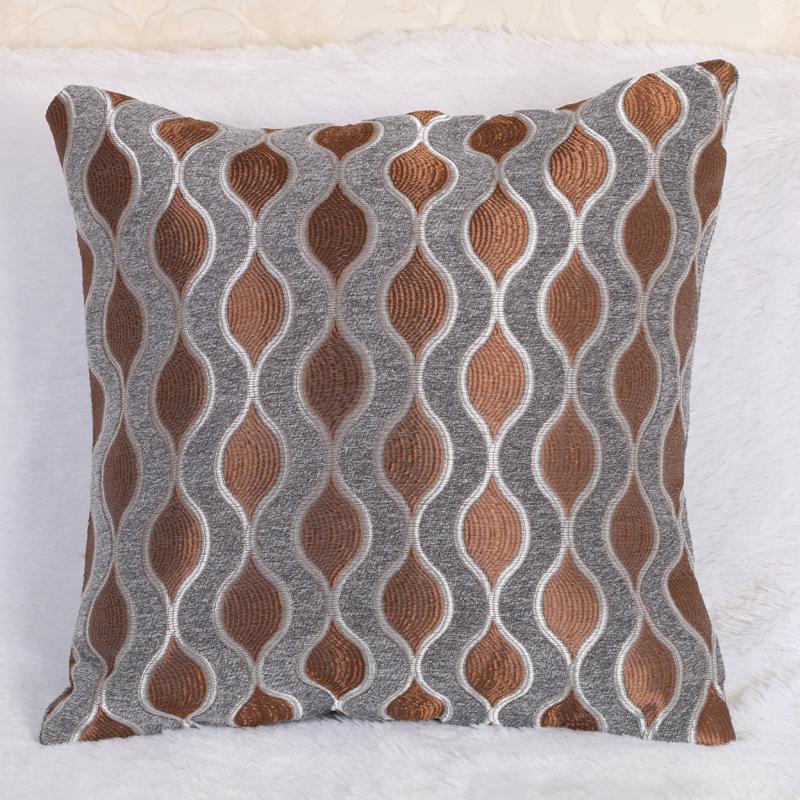 彬琴布艺 欧式时尚简约抱枕舒适沙发靠枕靠腰垫
